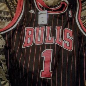 NWT NBA Chicago Bulls swingman Jersey  Rose